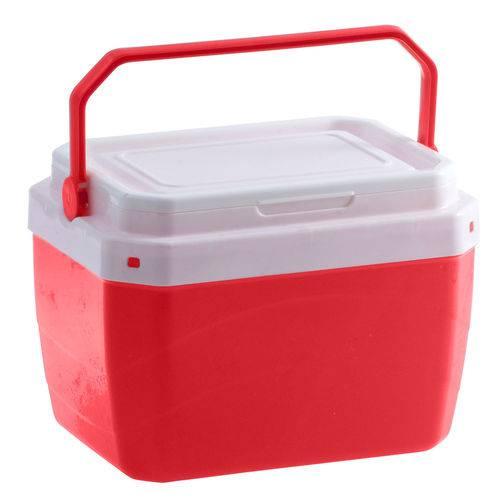 Caixa Térmica 6 Litros Vermelha Paramount
