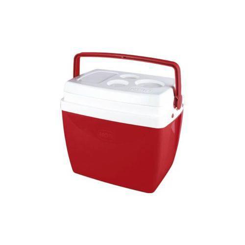 Caixa Térmica 26L Vermelha Mor - 25108172