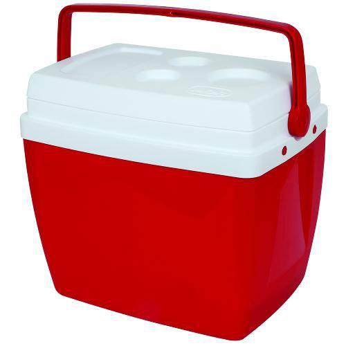 Caixa Térmica 26l - Vermelha - Mor