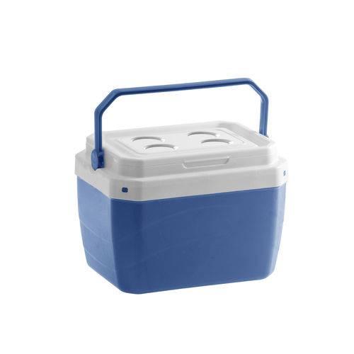 Caixa Térmica Azul - 17 Litros