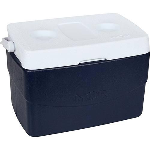 Caixa Térmica Metalúrgica Mor Glacial 20L Azul