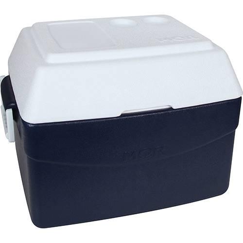 Caixa Térmica Metalúrgica Mor Glacial 55 Litros Azul