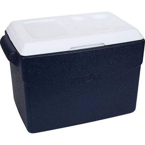 Caixa Térmica Metalúrgica Mor Glacial 26L Azul