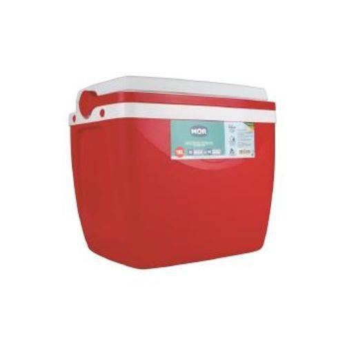 Caixa Térmica Mor 18 Litros Vermelha