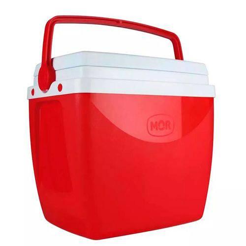 Caixa Térmica Mor 18L - Vermelha