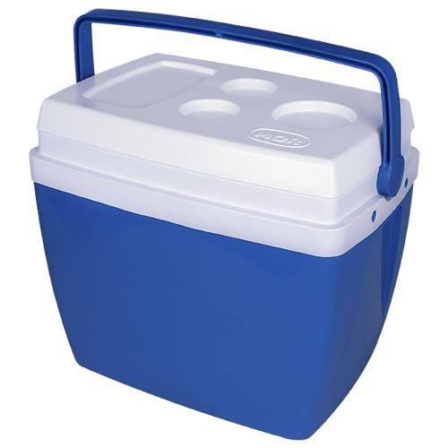 Caixa Térmica Mor 26 Litros Azul com Alça