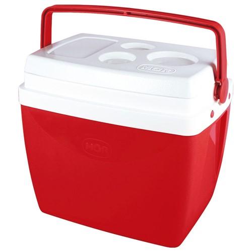 Caixa Térmica Mor - 26 Litros - Vermelha