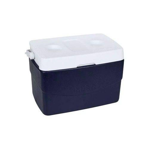 Caixa Térmica MOR Glacial 20 Litros Azul