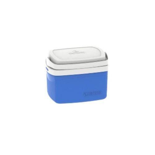Caixa Térmica Tropical 5 Litros Azul Soprano