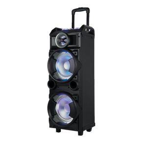 Caixa Torre Amplificada Multilaser SP282 8'' 300W USB/SD/FM/Bluetooth
