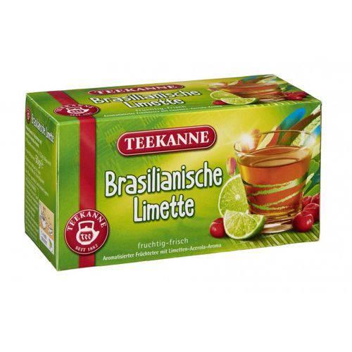 2 Caixas de Chá Limonada Brasileira com Acerola (20 Saq) 50g Cada - Teekanne