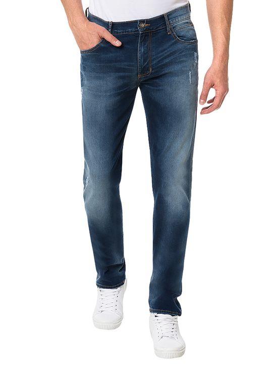 Calça Azul Médio Calvin Klein Jeans Sculpted - 42