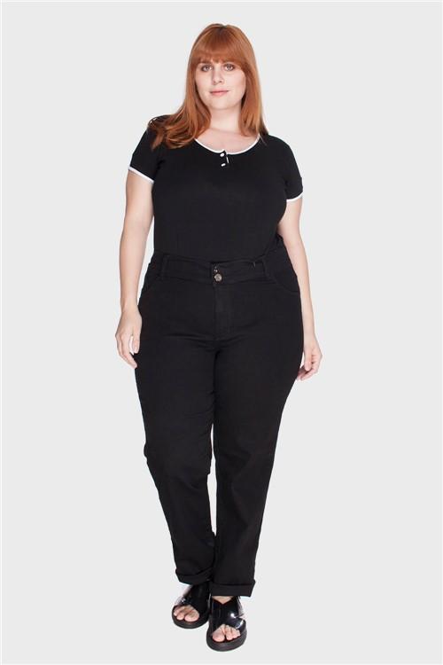 Calça Black Intenso Plus Size Preto-46