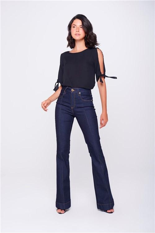 Calça Boot CutJeans ComFriso
