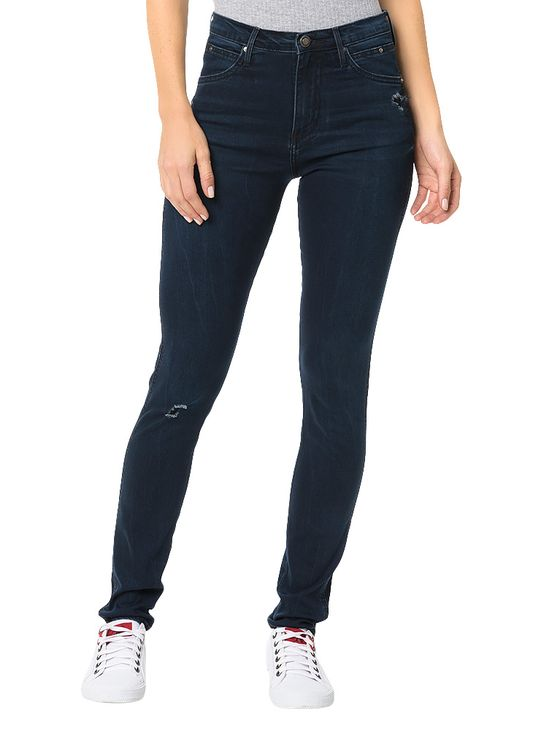 Calça Calvin Klein Jeans Sculpted Azul Marinho - 36