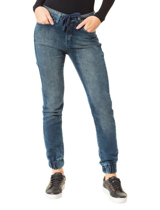 Calça Calvin Klein Jeans Slouchy Skinny Marinho - 34