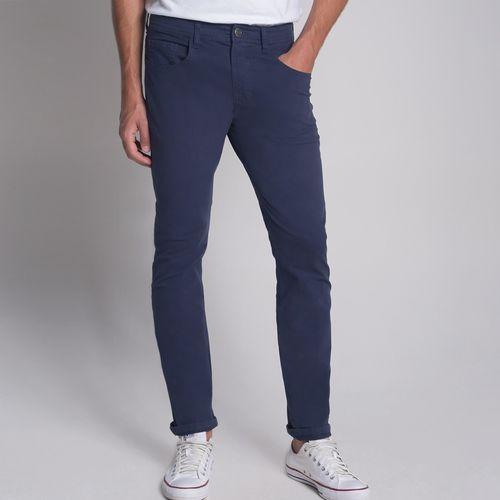 Calça Cinco Bolsos Azul Marinho - 40