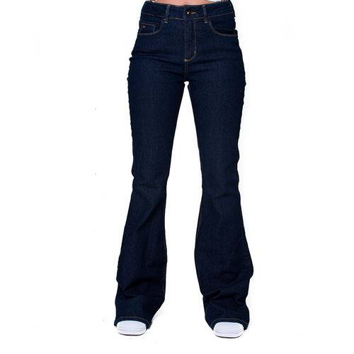 Calca Ck Jeans Five Pockets Flare High B Mulher