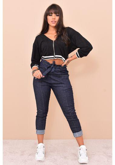 Calça Clochard Jeans AZUL 36