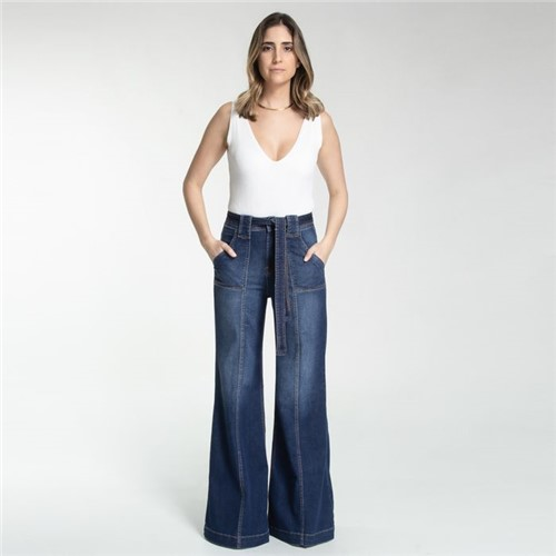 Calça Copenhague - Jeans Dark Denim - 36