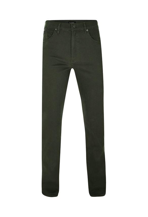 Calça de Sarja Velvet Verde 40