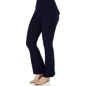 Calça de Tecido Feminina Azul Marinho M