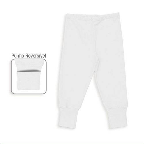 Calça em Ribana com Punho Reversível - Dedeka