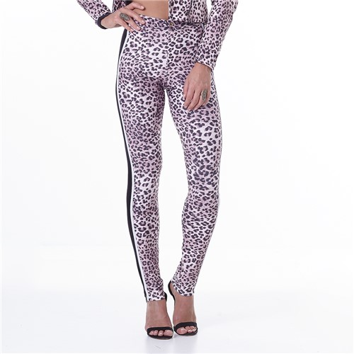 Calça Feminina Animal Print Jaguar - P