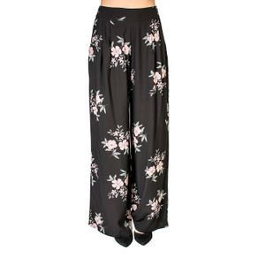 Calça Floral Pantalona Handbook