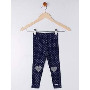 Calça Infantil para Bebê Menina - Azul 1