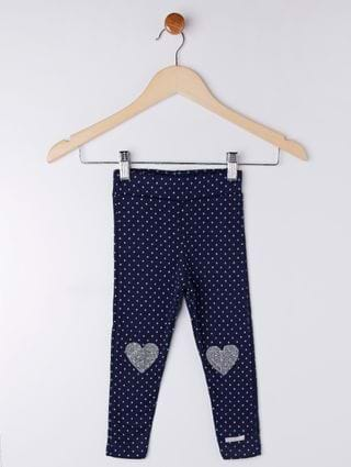Calça Infantil para Bebê Menina - Azul