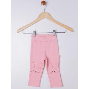 Calça Infantil para Bebê Menina - Rosa G