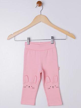 Calça Infantil para Bebê Menina - Rosa