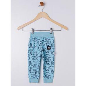 Calça Infantil para Bebê Menino - Azul G