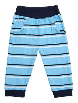 Calça Infantil para Bebê Menino - Azul