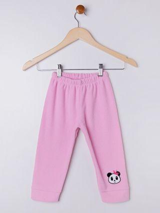 Calça Infantil para Menina - Rosa