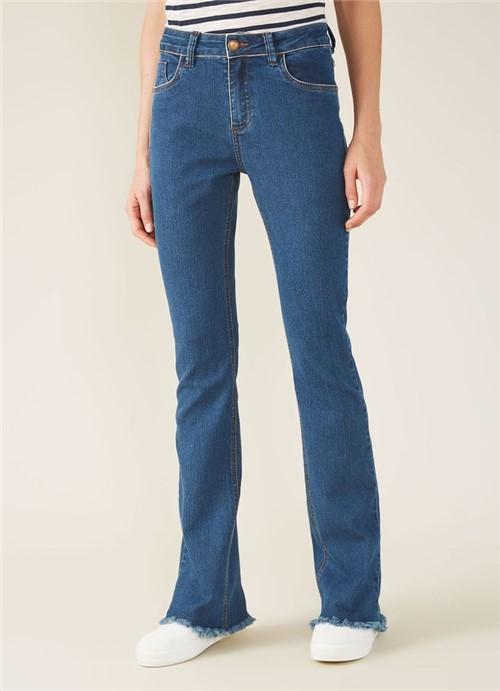 Calça Jeans a Bootcut Original Stone Jeans 34
