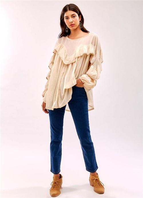 Calca Jeans a Reta Livia L71 Jeans 34
