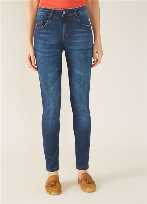 Calca Jeans a Skinny Comfort Jeans 34