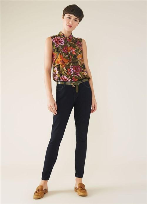 Calca Jeans a Skinny Dark Jeans 36