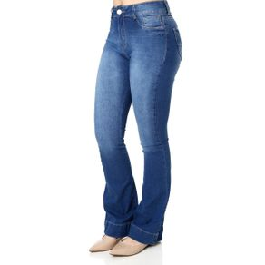 Calca Jeans Adulto Feminino Prs Azul 42