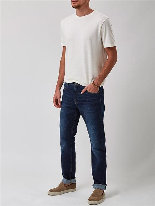 Calça Jeans Azul Marinho Tamanho 38