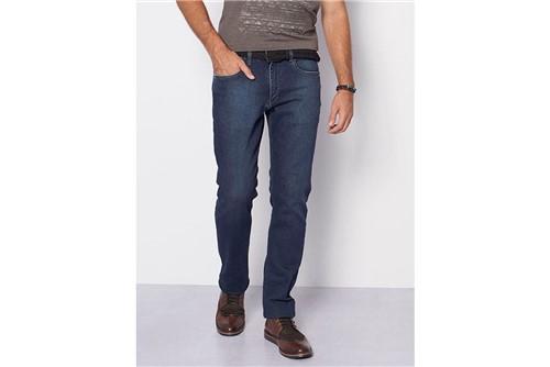 Calça Jeans Barcelona Azul Intenso - Azul - 40