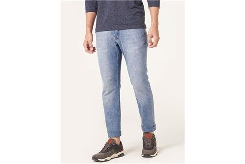 Calça Jeans Barcelona Blue - Azul - 40