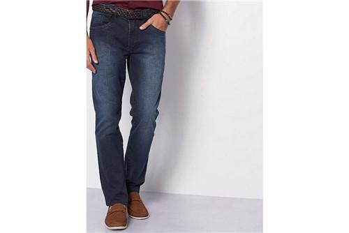 Calça Jeans Barcelona Blue Black - Azul - 50