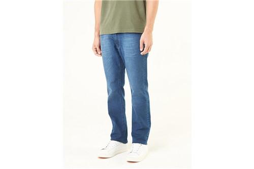 Calça Jeans Barcelona Detalhe Bolsos - Azul - 38
