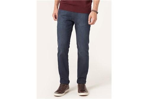 Calça Jeans Barcelona Ponto Triplo - Azul - 38
