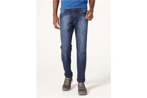 Calça Jeans Barcelona Ringada - Azul - 50