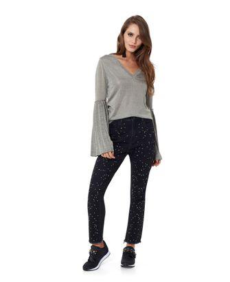 Calça Jeans Black Cristais