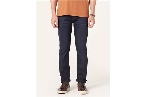 Calça Jeans Blue Dark Viscose - Azul - 40